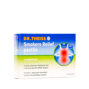 DR.THEISS SMOKERS RELIEF PASTILE