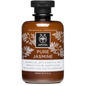 APIVITA PURE JASMINE Gel za tuširanje s esencijalnim uljima co